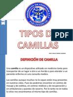 Tipos de Camillas Psf