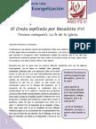 el credo explicado por benedicto xvi 3 - la fe en iglesia.pdf