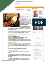 Le Dormeur Du Val, Rimbaud _ Anal_ Commentaire Composé