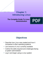 The Complete Guide to Linux Administration CH01 powerpoint
