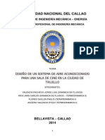 Tesina 2014-A Diseño de Un Sistema de Aire Acondicionado Para Sala de Cine en Trujillo