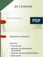 sistema lineares