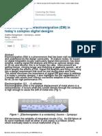 EE Times - Addressing Signal Electromigration (EM) in Today's Complex Digital Designs