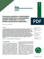 Protocolos de Anestesia