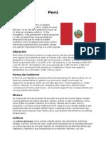 Perú - Informe