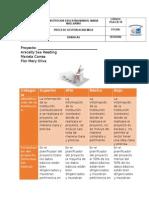 Matriz de Valoración Planificador Del Proyecto. TerminadodoYAcx