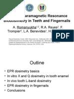 Partial Body EPR