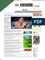 10-03-15 Eficiencia gubernamental , prioridad en Hermosillo. Maloro Acosta