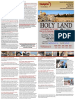 Holy Land 2016 Experience.  10-Day