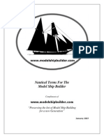 Nautical Terms for the Model Ship Builder