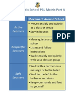 movement around school pbl