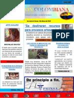 Portada de Periodico Con Secciones