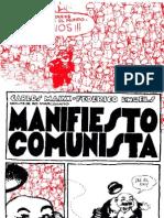 Marx & Engels Manifiesto Comunista - Dibujos Ro Marcenaro