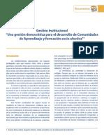 Gestión Institucional (Valoras UC) (Chile)