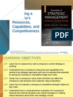 Evaluating a Company's Resources, Capabilities, and Competitiveness