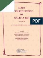 Actitudes Linguisticas en Galicia RAG