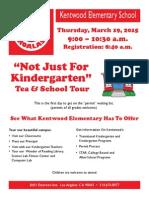 Kindergartentea2015
