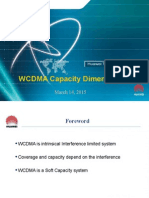 B03 WCDMA Capacity Dimensioning