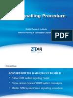 GSM Signalling Procedure