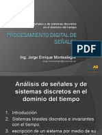 Tema 2 Analisis de Senales y de Sistemas Discretos en El Dominio Del Tiempo