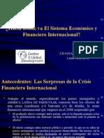 Hacia Donde Va El Sistema Economico y Financiero Internacional