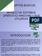 Sistemas operativo Windows coneptos
