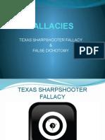 TEXAS SHARPSHOOTER FALLACY & BLACK-OR-WHITE FALLACY.pptx