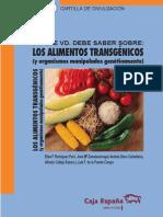 Varios - Lo Que Usted Debe Saber Sobre Los Alimentos Transgenicos -Carmen Luzon Bwv