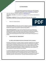Terrorismo, Corrupcion , Narcotrafico en El Peru