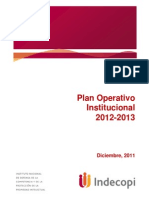 Plan Operativo Indecopi