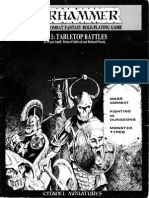 Warhammer fantasy battles 1st edition