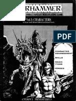 Warhammer fantasy Battles 1st Ed