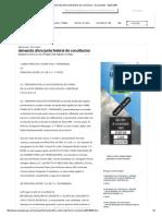 Demanda Afore Junta Federal de Conciliacion - Documentos - Bizbirije60