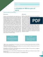 Algunas Plantas Utilizadas en Mexico Para El TX Del Asma