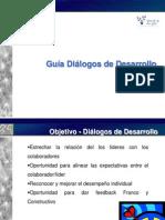 Entrenamiento Díalogos de Desarrollo