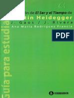 RODRÍGUEZ FRANCIA, A. M. - Recensión de «El Ser y El Tiempo» de Martin Heidegger (J. Gaos - J. Rivera) [Por Ganz1912]