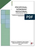 Proposal Seminar Gunung Botak
