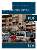 ISIS Governance in Syria 2014