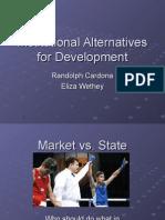 Institutional Alternatives for Development Final