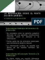 La Información Desde El Punto de Vista Juridico (Exposición No. 2))
