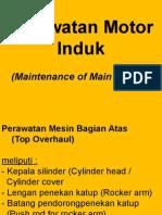 2. Perawatan Motor Induk
