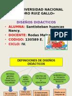 Diapos de Diseños Didacticos