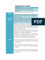 Matriz-DOMINO DE LOS VALORES