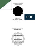 Boletin Estadistico 2007 (1)
