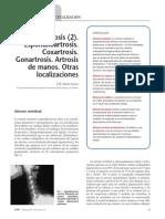 2005 Artrosis (2). Espondiloartrosis. Coxartrosis. Gonartrosis. Artrosis de Manos. Otras Localizaciones