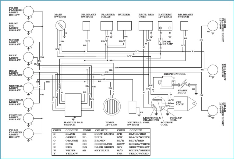 yamaha rx 100 wiring diagram   28 wiring diagram images