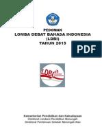 pedoman LDBI 2015