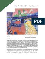 Charred Cross Bridge – Andre Derain 1906 Analysis by Rachelle DiaB.docx