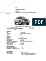 Ford-ranger 4x4 Municipalidad Provincial de Paita