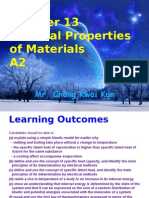 A2 Chapter 13 Thermal Properties of Material